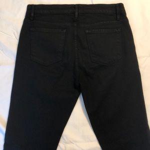 Frame Denim Jeans - Frame Denim black flare forever Karlie